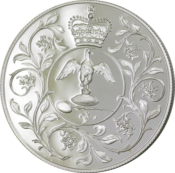 crown of crowns coin 1977